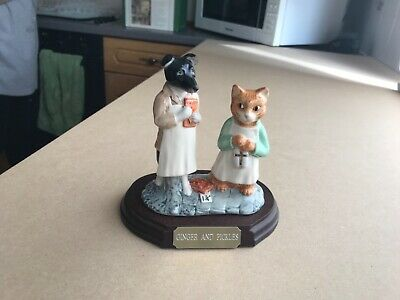 Beswick Beatrix Potter 'GINGER AND PICKLES Tableau Limited Edition • 37£