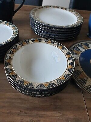 Denby Boston Spa Dinner Service  • 150£