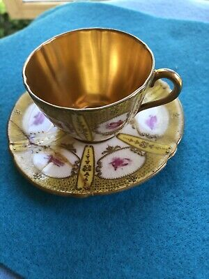 Royal Doulton Vintage Miniature  Cup And Saucer • 1.80£