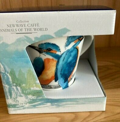 VILLEROY AND BOCH NEW WAVE MUG - Animals Of The World -  Kingfisher • 14.95£