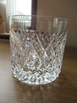 Tyrone Crystal Old Fashion  Whiskey Tumbler Sperrin Cut Signed Vgc • 15£