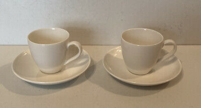 Villeroy And Boch Soul Espresso Cup & Saucer Set Of 2 • 19.99£