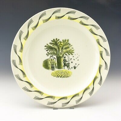 Wedgwood Pottery - Eric Ravilious - Garden Pattern Large Plate - Art Deco! • 16£
