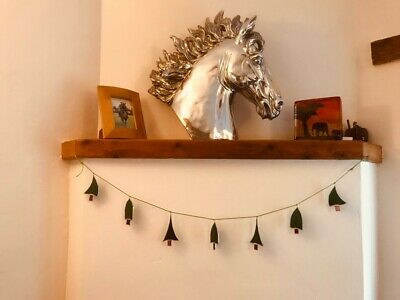 Stained Glass Christmas Bunting 100cm • 19£