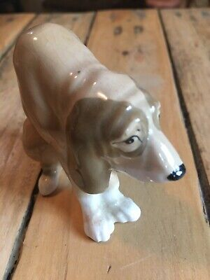 Small Vintage Siezler Blood Hound Dog Ornament  • 4.99£