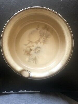 Denby Pottery Memories Pattern Ashtray Or Spoon Rest Made In Stoneware • 4£