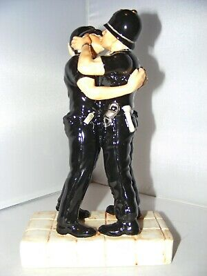 Kevin Francis Street Art Collection Banksy Kissing Coppers Ltd Ed 13 Of 25 • 295£