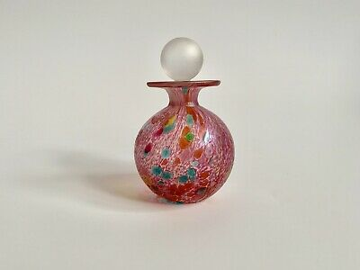 Stunning Isle Of Wight Art Glass Summer Fruits Scent Bottle • 50£