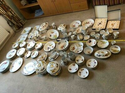 Royal Worcester Evesham Gold And Evesham Vale - Circa 180 Pieces - JOB LOT • 0.99£