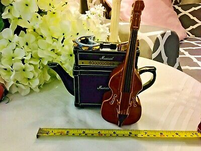 Richard Parrington Collectable Novelty Teapot  Amplifier Bass Great Condition • 42£