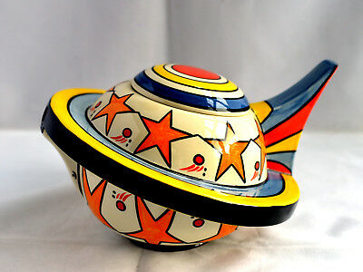Rare Lorna Bailey Odyssey Teapot Mint Signed Limited Edition Never Displayed • 139£