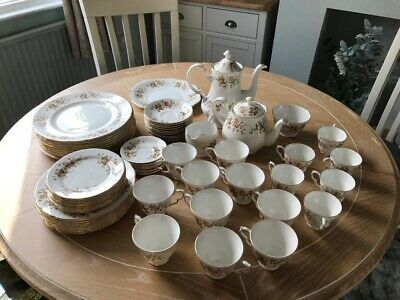 Colclough Autumn Leaves Tea Set • 65£