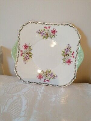 Vintage SHELLEY Bone China England  13512 Bread & Butter/Cake Plate 24cm • 17.50£