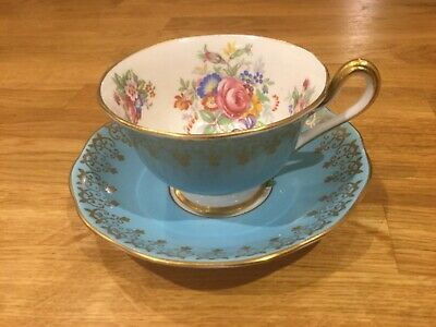 A Vintage Royal Albert Floral Cup And Saucer  • 24.99£