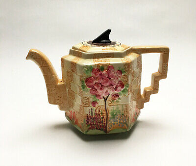 Beswick Teapot With A Garden Scene Called  Sundial  Design 1937 • 26£