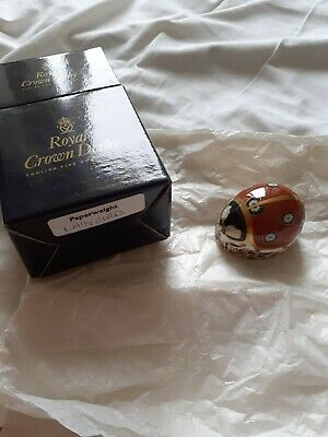 Royal Crown Derby Paperweight Ladybird..Boxed • 17£
