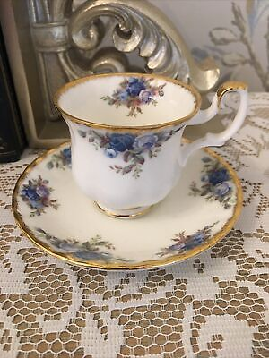 Royal Albert Moonlight Roses -Espresso Size Cup And Saucer -Please Read  • 6£