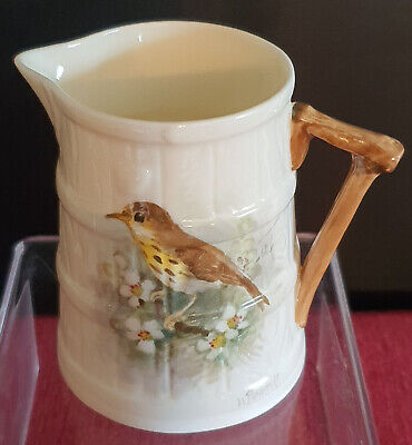 Royal Worcester Hand Painted Barrel Jug Signed W. Powell • 50£