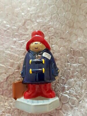RARE WADE BASE PADDINGTON BEAR BY CAMTRAK CHILDRES FAVOURITES Mint Condition  • 45£