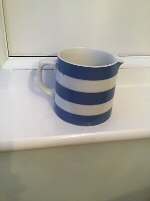 T G Green Cornishware Jug • 10£