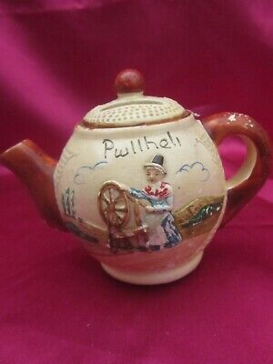 Rare Manor Ware Pwllheli Miniature Money Box Complete With Bung - Used Lovely • 3.99£