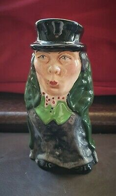Staffordshire Character Jug  Artful Dodger  By Manor - 107mm Tall • 9.99£