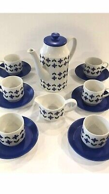 1960's Roselle Midwinter Coffee Set. Great Condition. • 30£