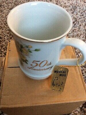 50th Anniversary Musical Mug By Stafex • 8£
