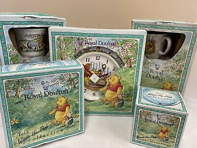 Royal Doulton - The Winnie The Pooh Collection Set - See Description (D3) • 19.99£