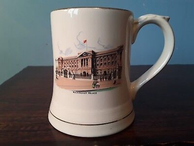 Buckingham Palace  Collectable Tankard By Wade . Good Condition. • 4.99£