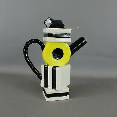 Vintage PAUL CARDEW Liquorice Allsorts Coffee Pot 28cm Tall - BLY • 9.99£