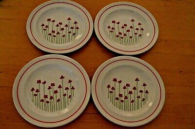 Boots Poppies Side Plate X 4 • 12£