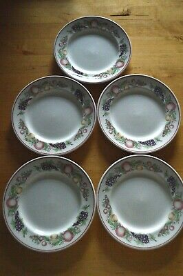 Boots Orchard 17.5cm Side / Tea Plate X 5 • 10£