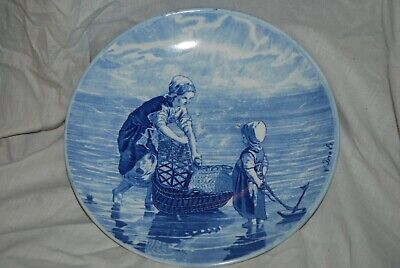 Blue And White Delft Style Charger 29 Cm Diameter • 19.99£