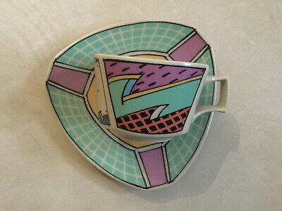 """Rosenthal Studio Line """"Flash"""" Coffe Cup And Saucer • 30£"""