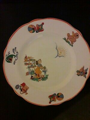 Vintage - Washington Pottery Ltd - Children's Plate -  • 3.40£