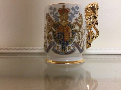 Royal Coronation Miniture Tankard 1952 Arthur Bowker  Ceramic  • 13.99£