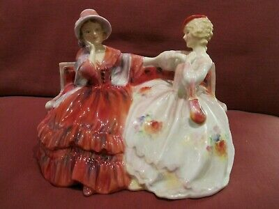 Stunning 1950's Retired Royal Doulton Figurine Entitled The Gossips Hn2025 • 100£