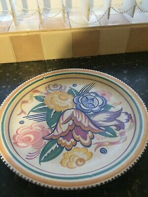 Large Poole Pottery Plate • 4.99£