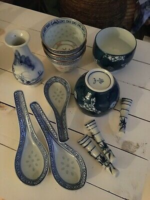 Job Lot Mix Of Chinese / Japanese Pottery / Tableware  • 20£