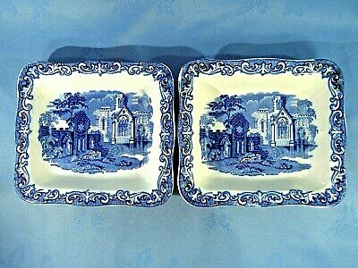 Two  Shredded Wheat  Dishes In The 'abbey 1790' Pattern ~ By George Jones & Sons • 9.99£