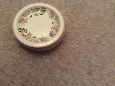 Wedgewood Roseberry Small Side Plates X 6 • 6.80£