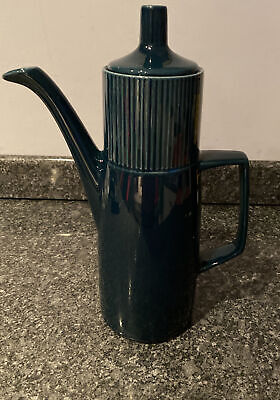 Vintage Unusual Coloured Tall Coffee Pot Tableware Replacement Beautiful 1970s • 19.99£