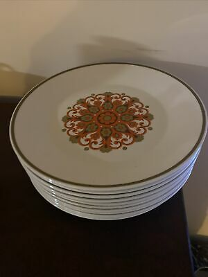 J & G  Meakin Dinner Plates 10 Inches 11 Available • 3£