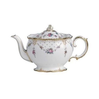 Royal Crown Derby 2nd Quality Antoinette Small Teapot • 340£
