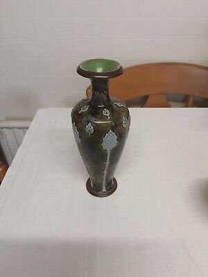 Royal Doulton Stoneware Vase By W Barron • 45£