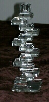 Galway Living Glass Candlestick • 15£