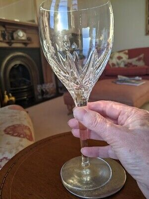 Stuart Crystal Set Of 10 Beautiful Large Wine Glasses In The Rare Coronet Design • 120£