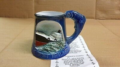 Lowestoft Trawler The Pier Heads Ltd Ed Great Yarmouth Pottery Tankard Mug  • 7.95£