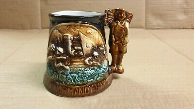 50th Anniversary D-Day Landings Ltd Ed Great Yarmouth Pottery Tankard Mug  • 3.95£